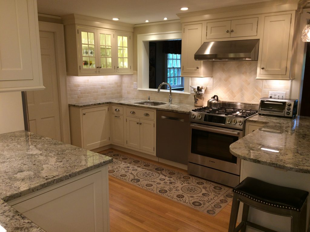 Open Layout Kitchen Renovation Winchester MA