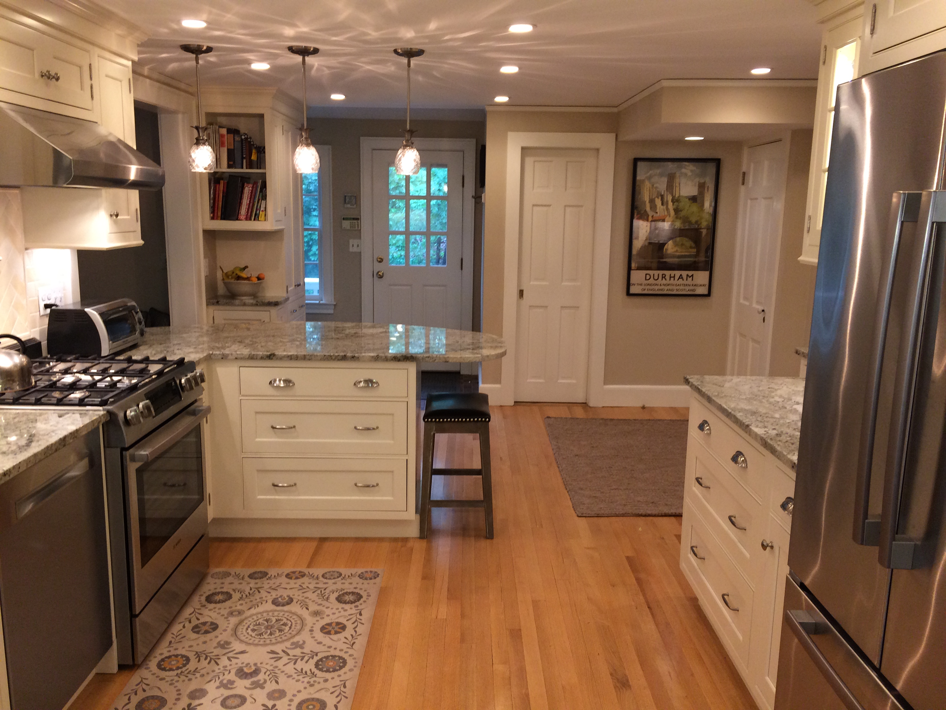 Open Layout Kitchen Renovation In